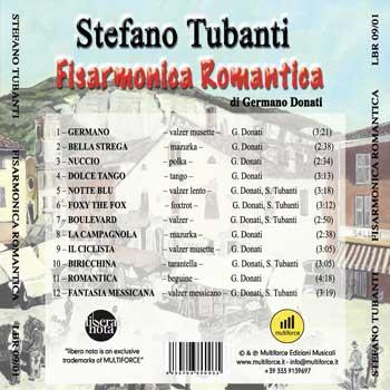 fisarmonica romantica turbanti tracklist