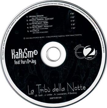 tribu della notte cd