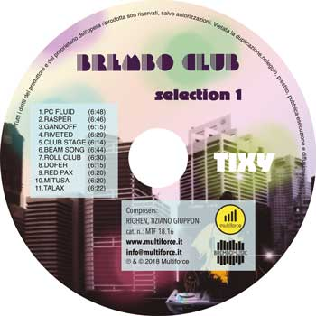 brembo club selection cd