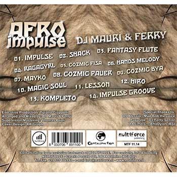cd afro impulse tracklist
