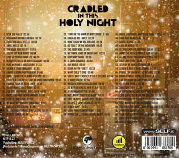 cradled holy night music