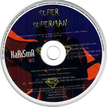 karisma superman cd