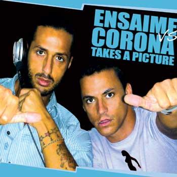 ensaime corona takes a picture